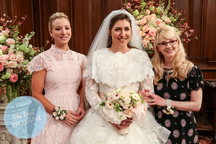 Exclusive: Sheldon and Amy's 'Big Bang Theory' Wedding Album