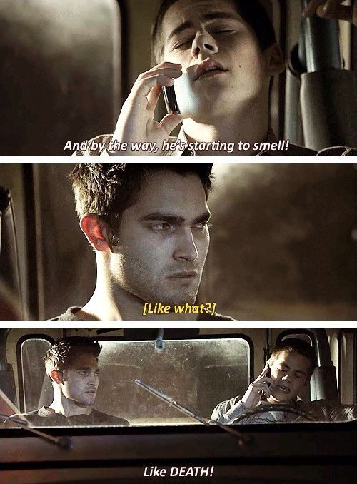 Discovered by Queen Holland. Find images and videos about teen wolf, stiles stilinski and derek hale on We Heart It - the app to get lost in what you love.