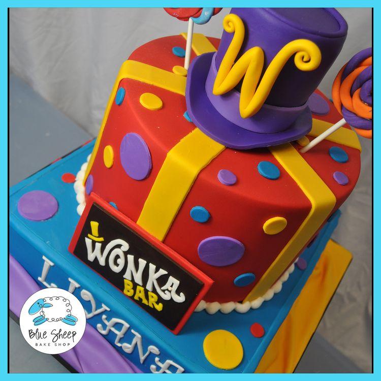 Willy Wonka Birthday Cake NJ