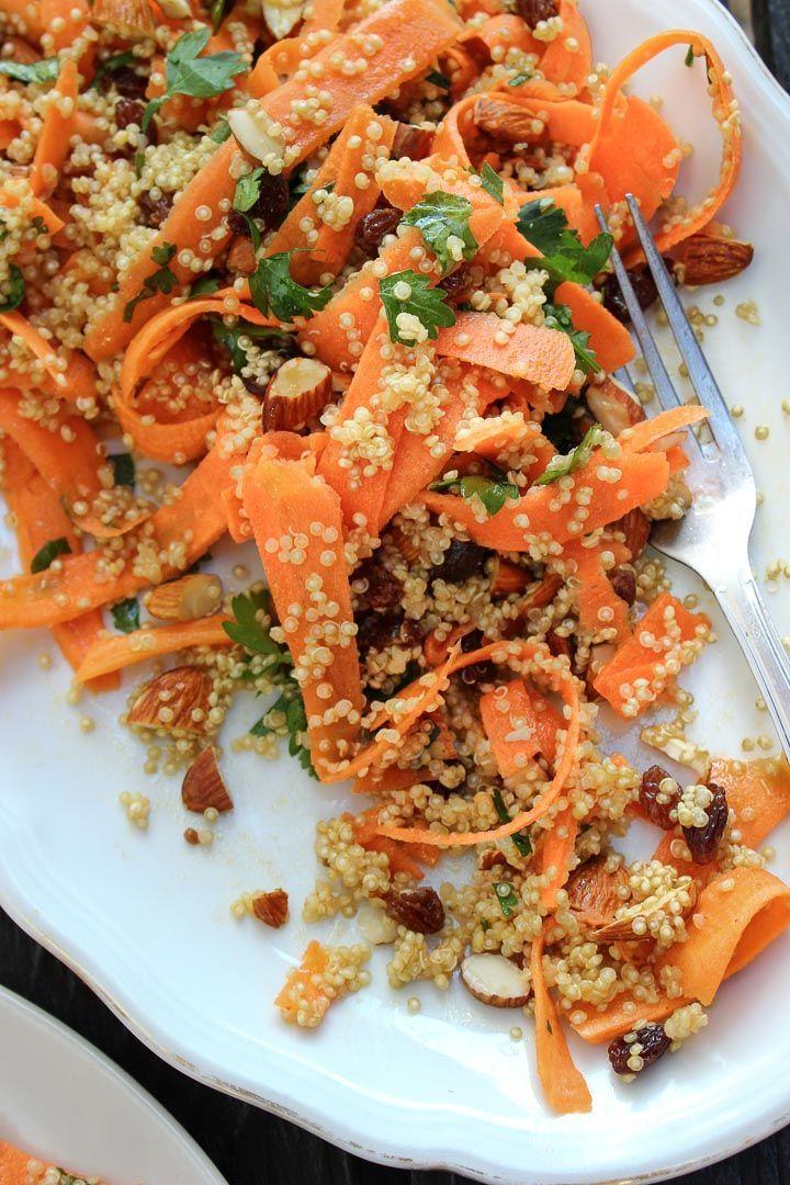 Moroccan Carrot & Quinoa Salad - Happy Hearted Kitchen