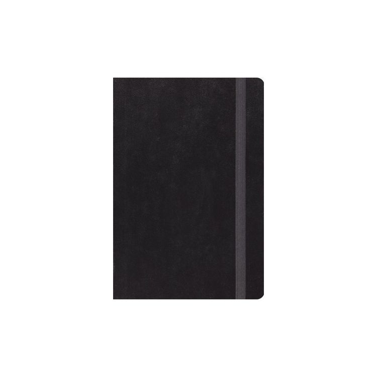 Holy Bible English Standard Verson Bible Black With Strap Hardcover