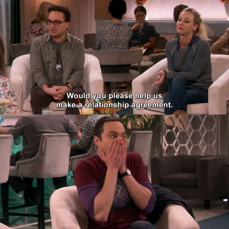 The Big Bang Theory - The Romance Recalibration #LeonardHofstadter #Penny #TheBigBangTheory #TheRomanceRecalibration #tbbt #bigbangtheory #bbt #haha #lmao