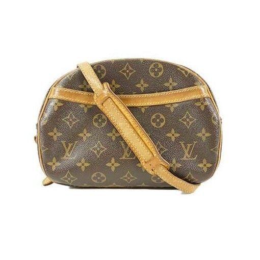ec76421d1482 (eBay link) Louis Vuitton Monogram Canvas leather Blois M51221 Shoulder Bag  Used Japan