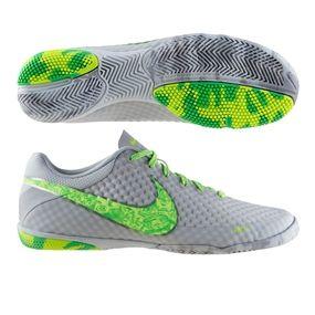8b948a1c1 Nike FC247 Elastico Finale II Premium Indoor Soccer Shoes (Platinum Green)
