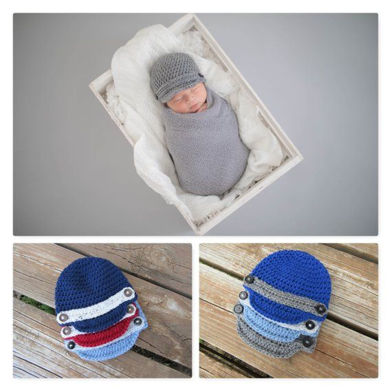 48ba5ff2c4865 Baby Boy Photo Prop Hat