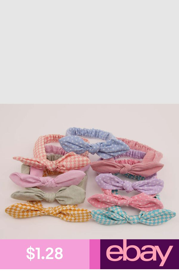 Cute Baby Girl Hair Accessories Toddler Bowknot Hairband H