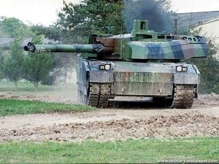 3ac2e854d09d Leclerc Main Battle Tank  Fastest ultra-expensive and high-tech tank of  French