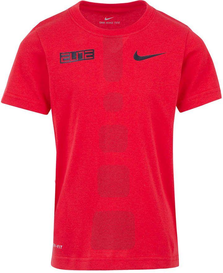 bfe03fe6d Nike Little Boys Dri-fit Elite Graphic-Print T-Shirt