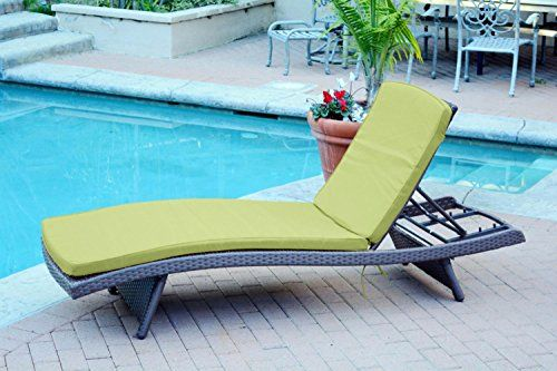 4 Adjustable Espresso Resin Wicker Patio Chaise Lounge Cha