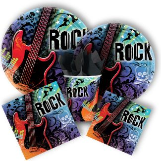 Rock Star Party Supplies Birthday Decorations