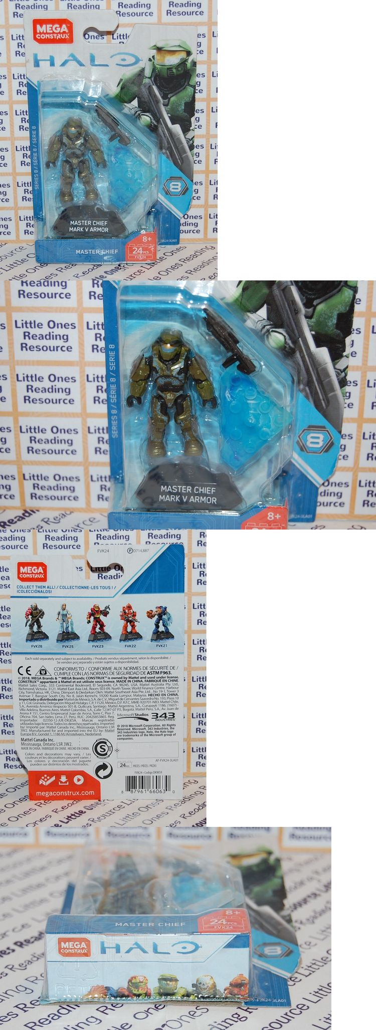Mega Bloks Building Toys 52338: Master Chief Mark V Armor H
