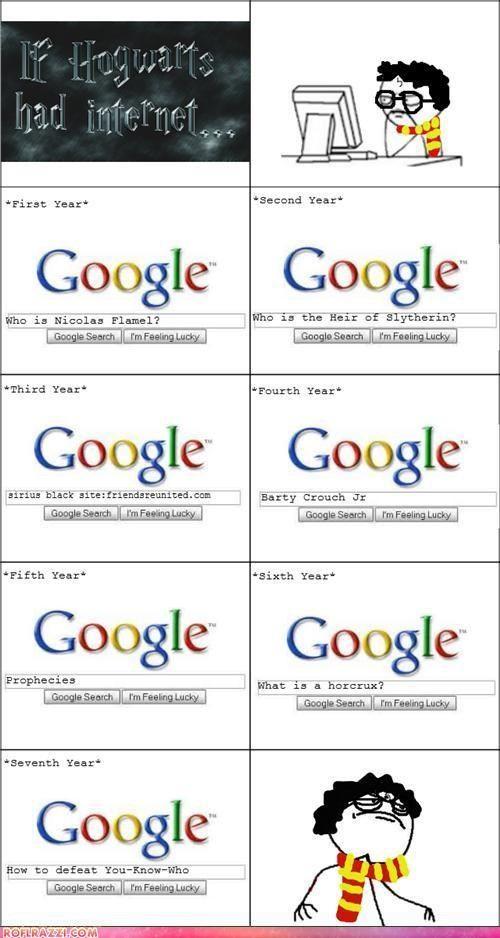 If Hogwarts Had The Internet