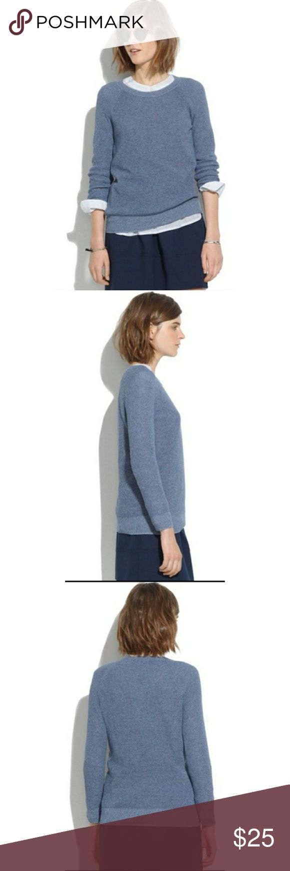 96a17923060 Madewell Bridgeview Pull over sweater Excellent condition