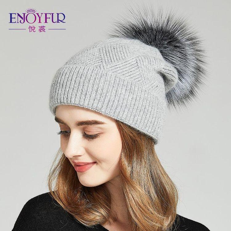 a1ec6f3cf45 Winter Hats For Women Natural Fur