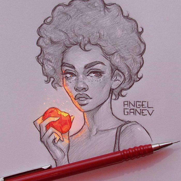 Artista faz com que suas ilustrações tenham luz própria e o resultado é incrível