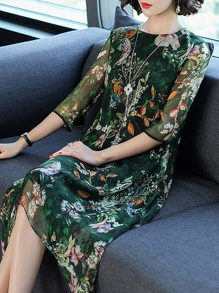 7d379ca2d9 Buy Midi Dress For Women from A-THENA at Stylewe. Online Shopping Stylewe  Crew