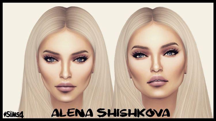 Alena Shishkova | Russian Megan Fox | SIMS 4 CC LIST