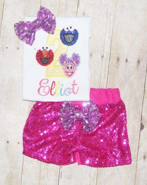 Sesame Street Birthday Outfit Sesame Street Birthday Shir