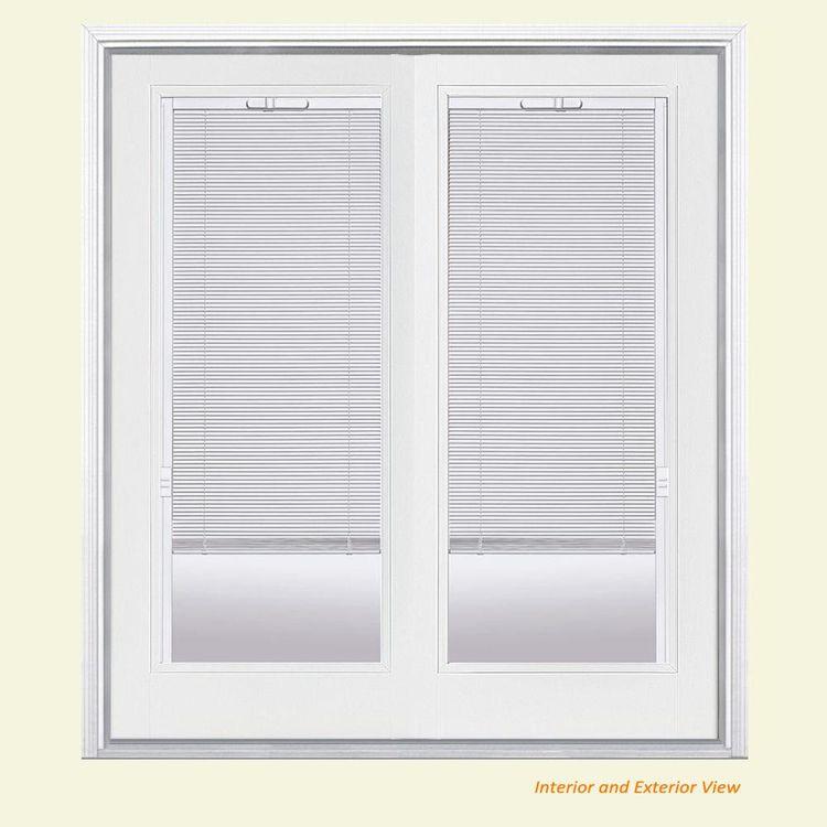 Masonite 72 In X 80 In Primed White Fiberglass Prehung Le