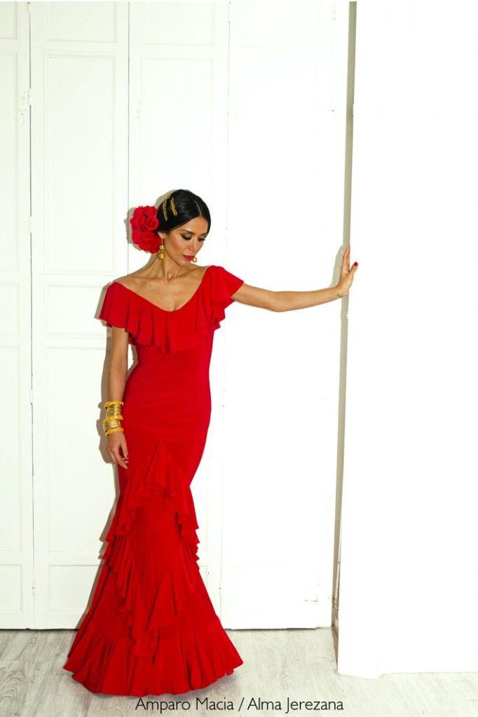 Vestidos de fiesta flamencos baratos