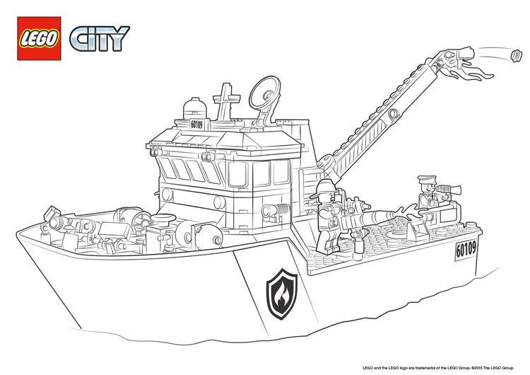 Lego City Feuerwehr Ausmalbilder 842 Ma