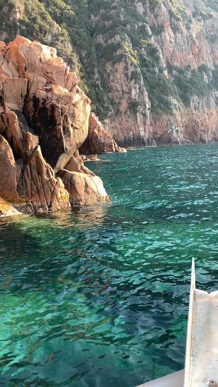 Scandola, Girolata, Piana : Alpana, l'excursion en mer