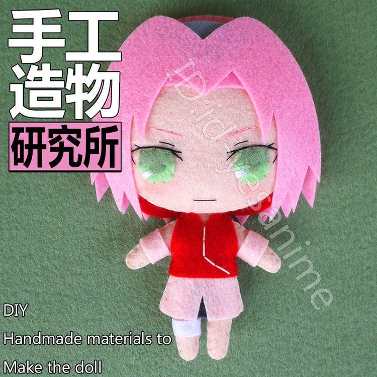 Anime Tokyo Ghoul Ken Kaneki DIY Handmade Toy Keychain Bag Hanging Plush Doll