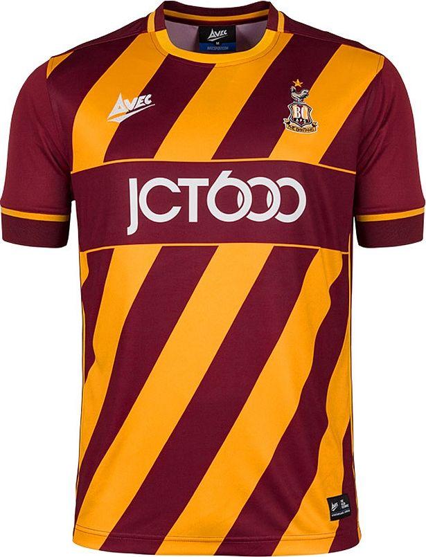 e78e14e37bf40 Avec Sport lança a nova camisa titular do Bradford City - Show de Camisas
