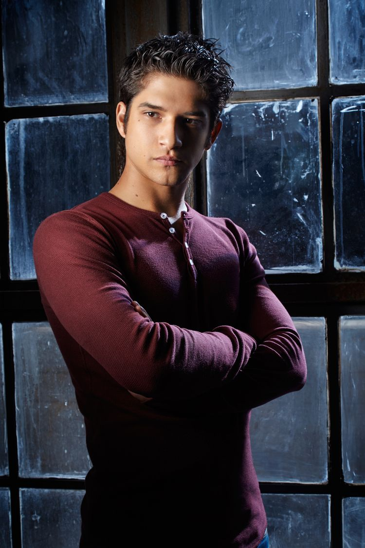 """And this is Tyler Posey, who plays Scott McCall. 