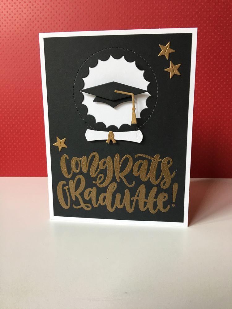Handmade Graduation Card Card For Graduate College Gra
