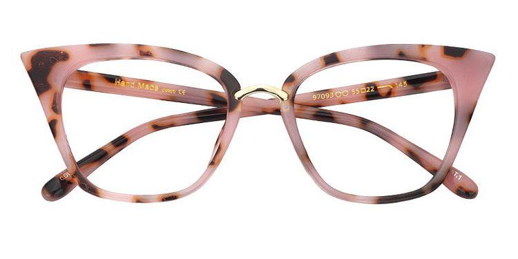dc6981d02 Tallulah Pink/Tortoise Cat Eye Glasses FA0457-01
