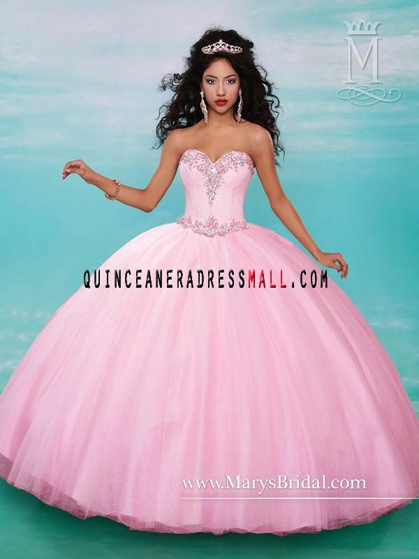 aff924aa607 2016 pink quinceanera dresses ball gown appliques witn beaded puffy  princess sweet 15 dresses 4637 Quinceanera Dresses