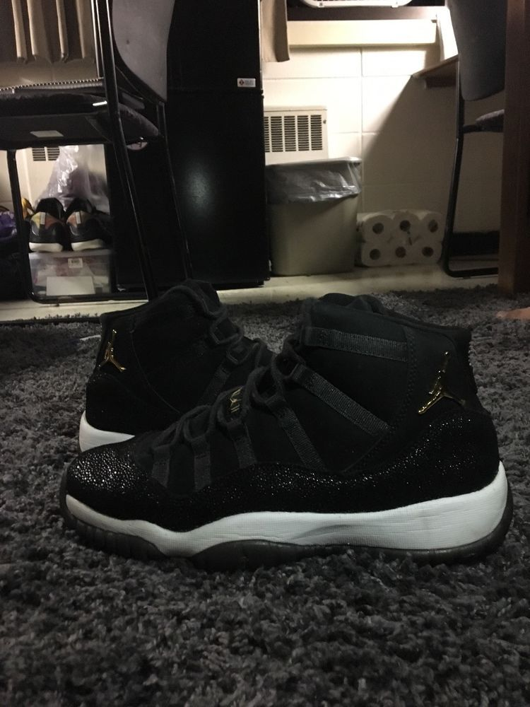 competitive price 6b178 05449 air jordan 11 heiress velvet Youth Size 8  fashion  clothing  shoes   accessories