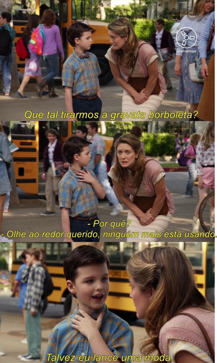 The Young Sheldon 😍