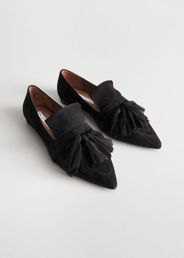 07c70810596 Suede Tassel Loafers