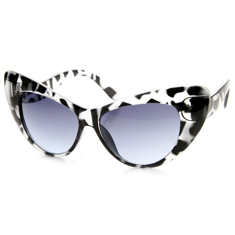 8e9c09126 Designer Womens Oversize Retro Cat Eye Fashion Sunglasses 8938 | zeroUV