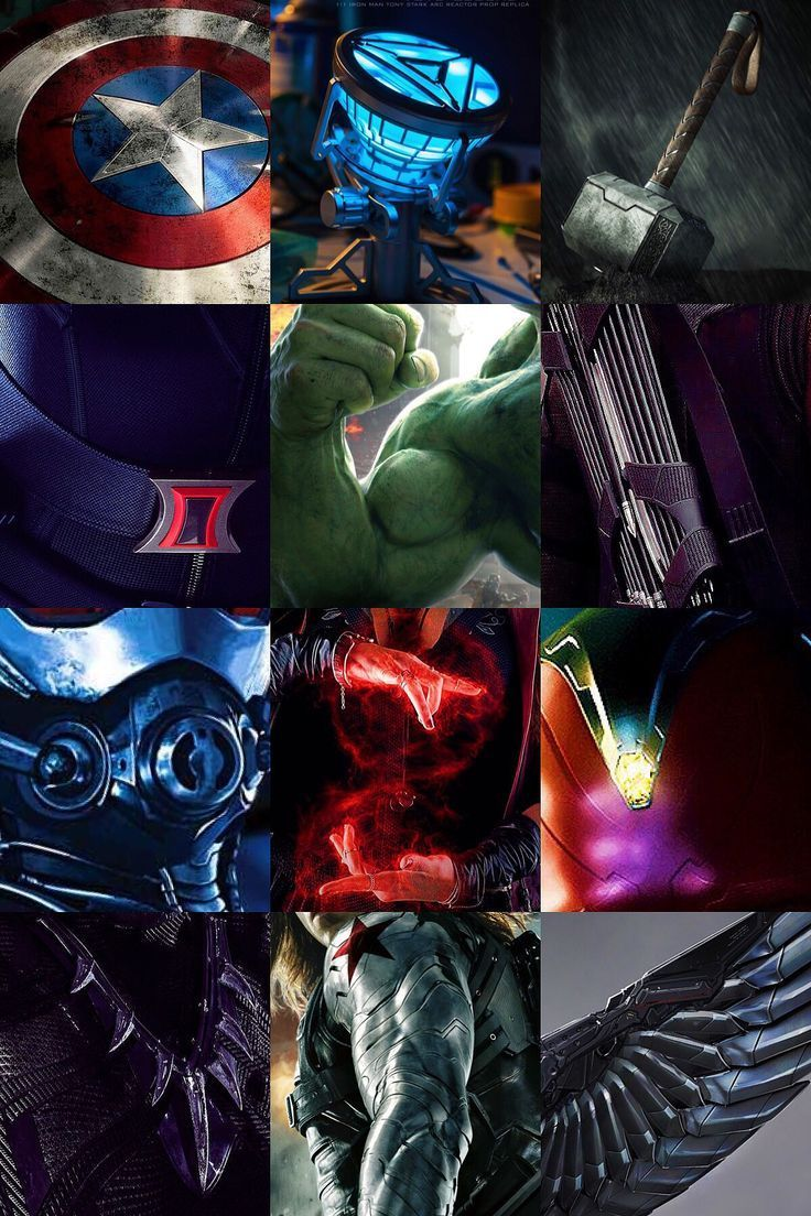 Cinematic Avengers - Marvel Universe #marveluniverse Cinematic Avengers