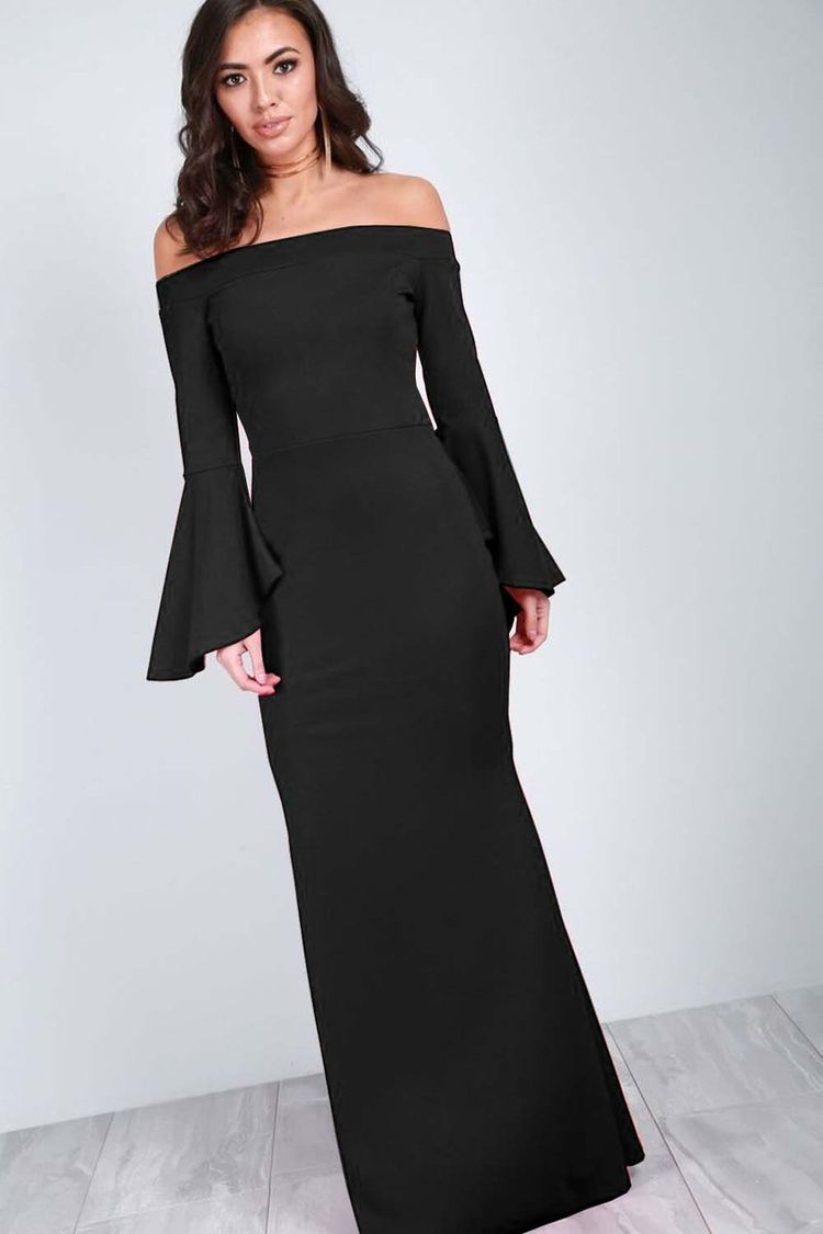 b8cdd7139b3 CALLIE FLARE SLEEVE MAXI DRESS £26.00 Glam things up this season in the  Callie Off