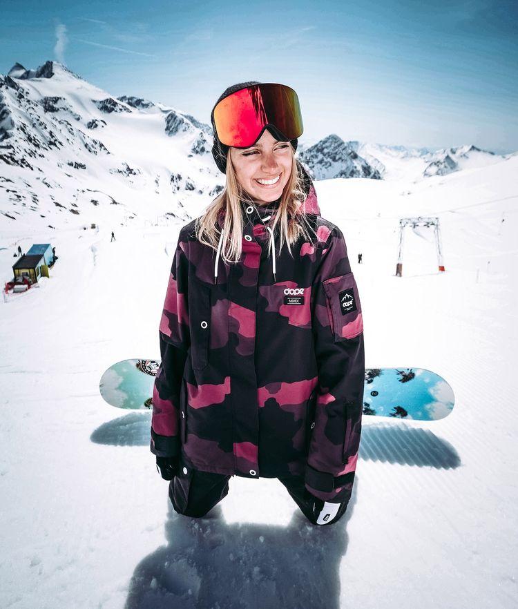 0d10c23101f9 Dope Divine Snowboard Jacket Pink Snowboarding t