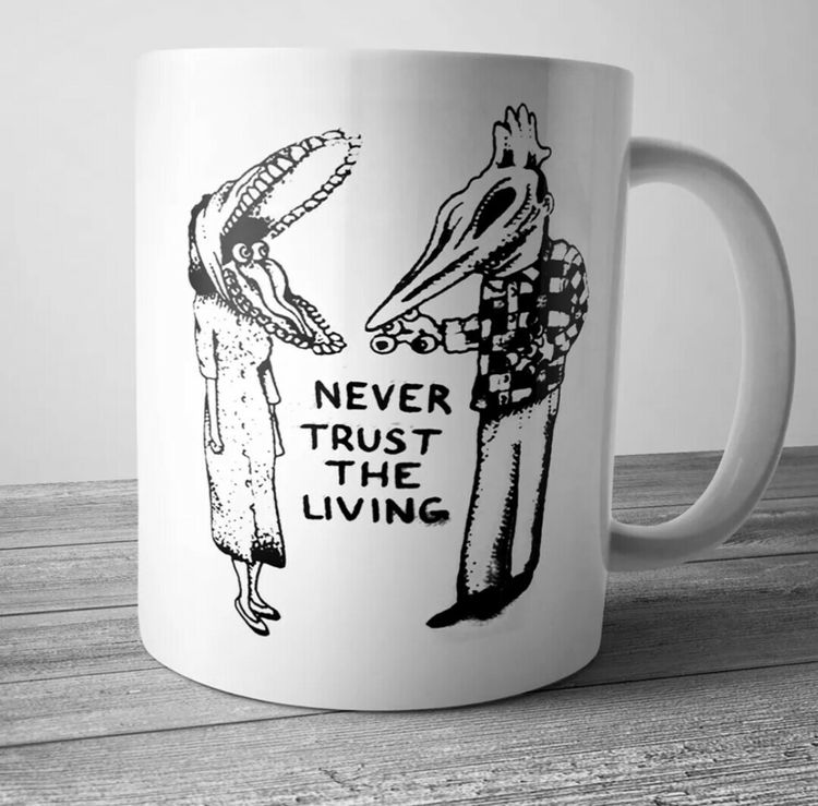 LookHUMAN You Have Abducted My Heart White 11 Ounce Ceramic Coffee Mug