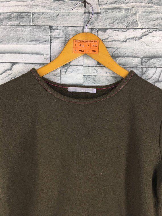 b09a3f5eff0c7 Vintage CHAMPION Jumper Sweatshirts Ladies Small 80's Cham