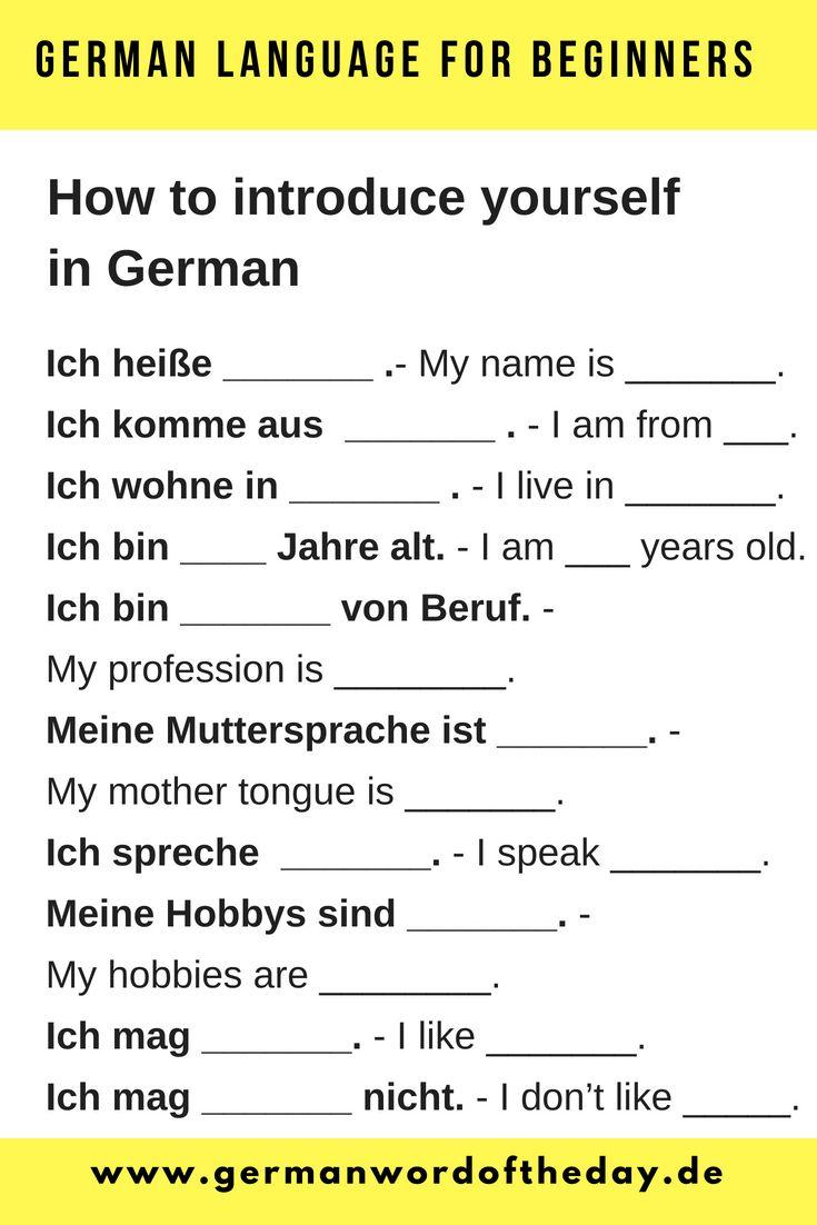 German For Beginners Pdf