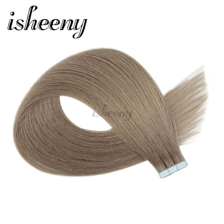 Find More Tape Hair Extensions Information about Isheeny Remy Natural  Straight European Hair 14