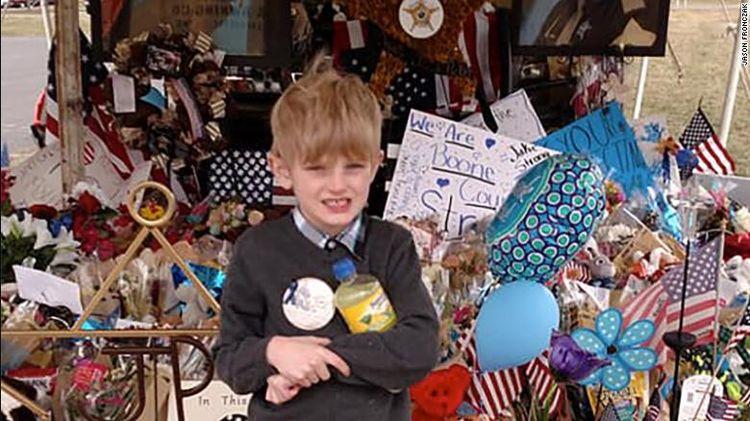 A 6-year-old boy's lemonade raises $7,000 for the family of a slain deputy