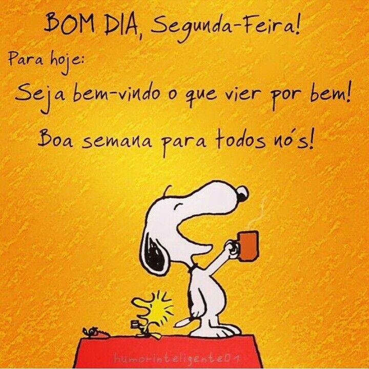 Tag Mensagem Bom Dia Segunda Snoopy