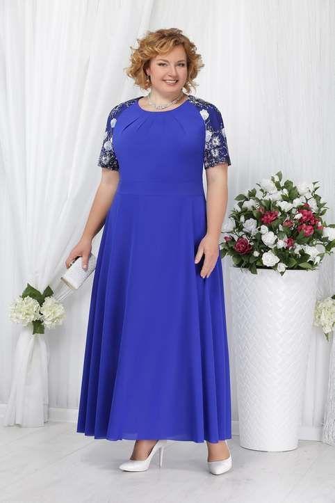 7828d315efb Красивые платья для полных женщин белорусского бренда Ninel