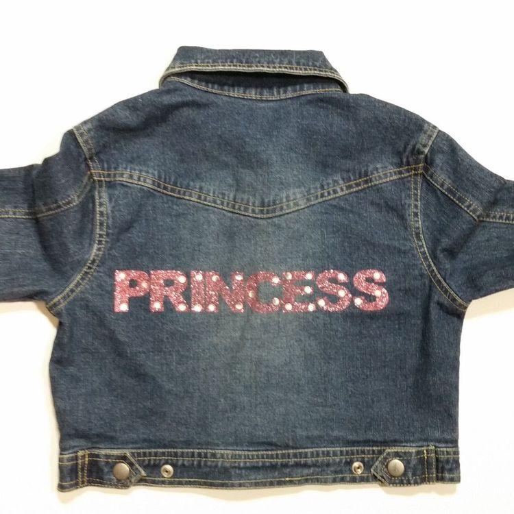 022845c6 Libby Lu Girls Size Large Denim Jean Jacket Pink Princess #LibbyLu  #JeanJacket #Everyday