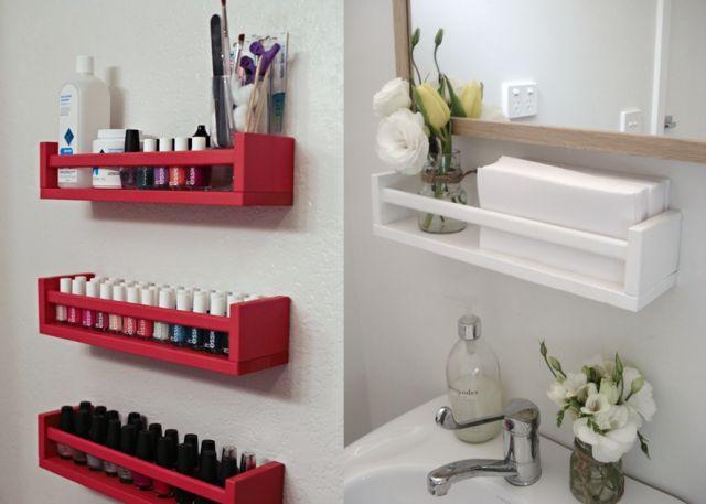 Blog déco design Joli Place 15 idées pour détourner une étagère à épices ikea