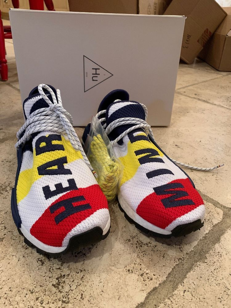 1ad3be3fec21c Adidas x Pharrell Williams NMD HU x BBC Billionaire Boys Club BB9544 Size  10.5  fashion  clothing  shoes  accessories  mensshoes  athleticshoes (ebay  link)