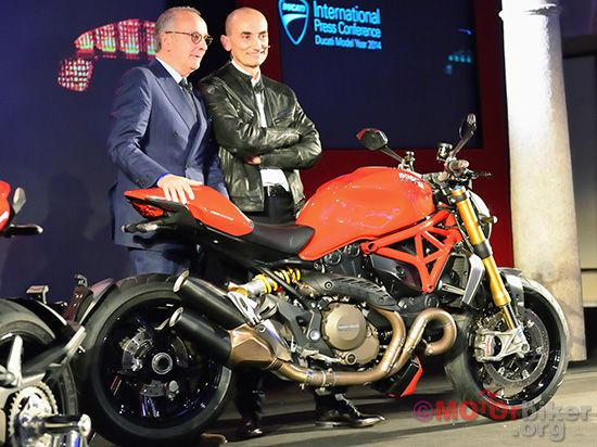 Ducati Monster 1200 Eicma 2013